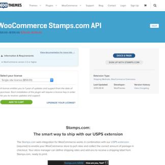 Extensión para WooCommerce: Stamps.com API