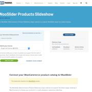 Extensión para WooCommerce: WooSlider Products Slideshow