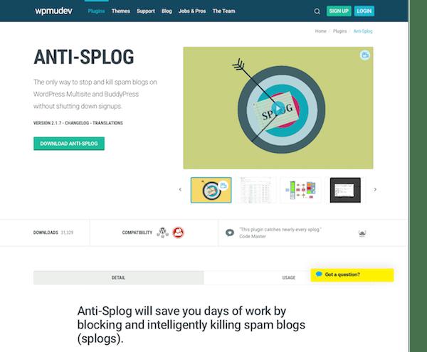 WPMU DEV: Anti-Splog WordPress Plugin