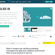 WPMU DEV: Slide In WordPress Plugin