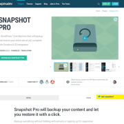 WPMU DEV: Snapshot Pro WordPress Plugin