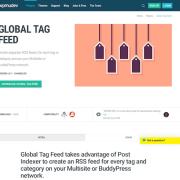 WPMU DEV: Tag Feed WordPress Plugin
