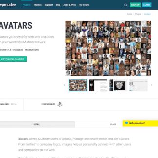 WPMU DEV: Avatars WordPress Plugin
