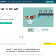 WPMU DEV: Batch Create WordPress Plugin