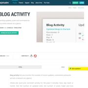 WPMU DEV: Blog Activity WordPress Plugin