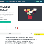WPMU DEV: Comment Indexer WordPress Plugin