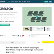 WPMU DEV: Directory WordPress Plugin