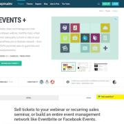 WPMU DEV: Events Plus WordPress Plugin