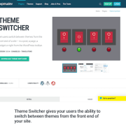 WPMU DEV: Global Theme Switcher WordPress Plugin
