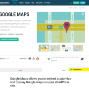 WPMU DEV: Google Maps WordPress Plugin