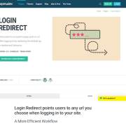 WPMU DEV: Login Redirect WordPress Plugin