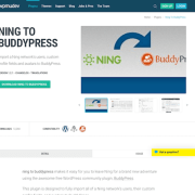 WPMU DEV: Ning To BuddyPress WordPress Plugin