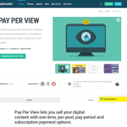 WPMU DEV: Pay Per View WordPress Plugin