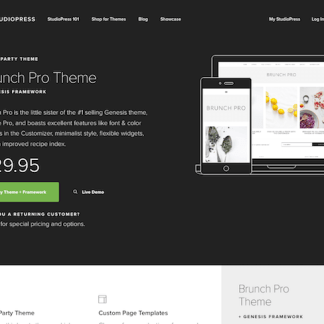 StudioPress: Brunch Pro Theme