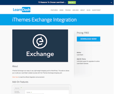 LearnDash LMS Add-On: iThemes Exchange Integration