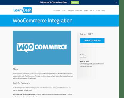 LearnDash LMS Add-On: WooCommerce Integration