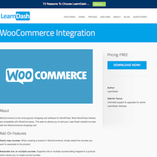 LearnDash LMS Add-On: WooCommerce Integration