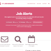 WP Job Manager Add-On: Job Alerts