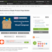 Codecanyon: DHVC Woocommerce Product Page Builder for Visual Composer