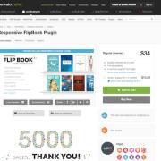 Codecanyon: Responsive FlipBook WordPress Plugin