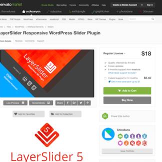 Codecanyon: LayerSlider WP