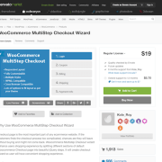 Codecanyon: WooCommerce MultiStep Checkout Wizard