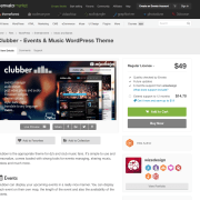 Themeforest: Clubber