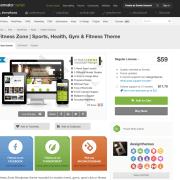 Themeforest: Fitness Zone