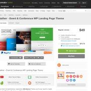 Themeforest: Gather