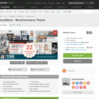 Themeforest: GoodStore