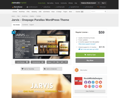 Themeforest: Jarvis