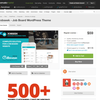 Themeforest: Jobseek