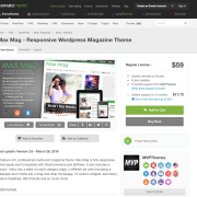 Themeforest: Max Mag