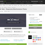 Themeforest: Mr. Tailor