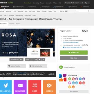 Themeforest: ROSA