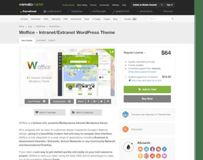 Themeforest: Woffice