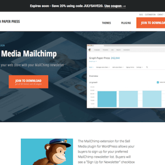 Graph Paper Press: Sell Media Mailchimp Addon