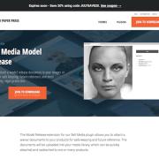 Graph Paper Press: Sell Media Model Release Addon