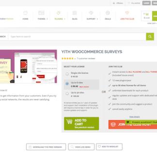 YITH WooCommerce: Surveys Premium