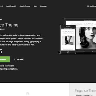 StudioPress: Elegance