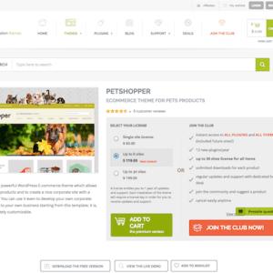 YITH WooCommerce: PetShopper