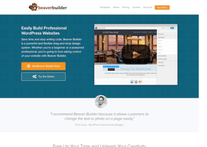 Beaver Builder Pro WordPress Plugin