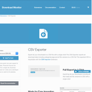 Download Monitor CSV Exporter