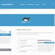Download Monitor Ninja Forms