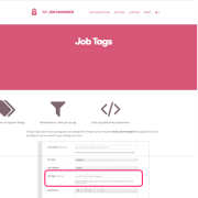 WP Job Manager Add-On: Job Tags