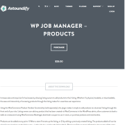 WP Job Manager Add-On: Products