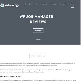 WP Job Manager Add-On: Reviews