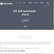 WP Job Manager Add-On: Stats