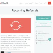 AffiliateWP: Recurring Referrals