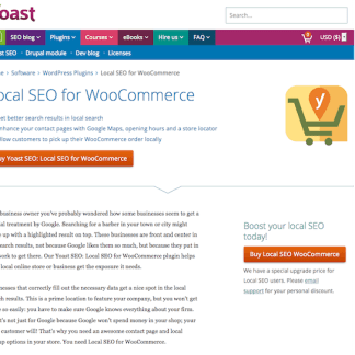 Yoast: Local for WooCommerce Plugin
